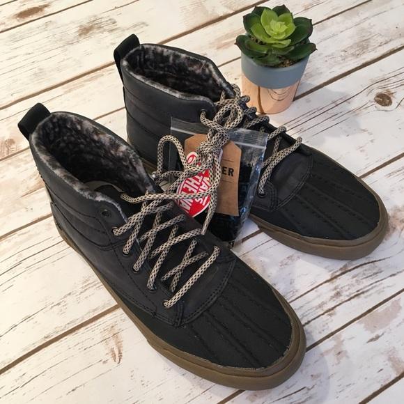 9a9d98522e5e38 Vans All Weather SK8-hi MTE Gray Boots Size 8 NWT